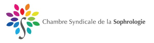 Logo - Chambre Syndicale de la Sophrologie
